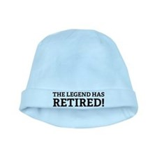 The Legend Has Retired! baby hat