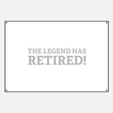 The Legend Has Retired! Banner