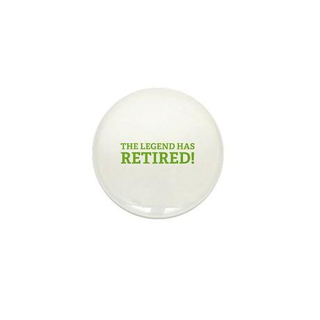 The Legend Has Retired! Mini Button