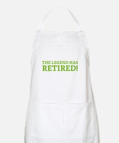 The Legend Has Retired! Apron