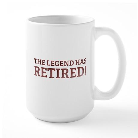 The Legend Has Retired! Large Mug
