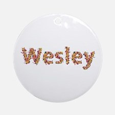 Wesley Fiesta Round Ornament