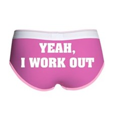 YEAH, I WORK OUT Women's Boy Brief