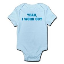 YEAH, I WORK OUT Onesie