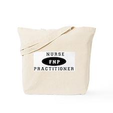Cute Family nurse practitioner Tote Bag