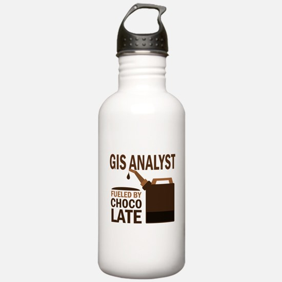 Gis Analyst (Funny) Gift Water Bottle