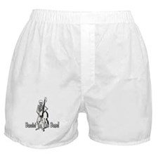 Skeleton Upright Bassist Boxer Shorts