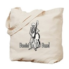 Skeleton Upright Bassist Tote Bag