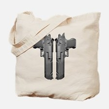 50 Caliber Pistols Tote Bag