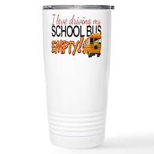 Bus Driver - Empty Bus Travel Mug