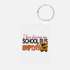 Bus Driver - Empty Bus Keychains