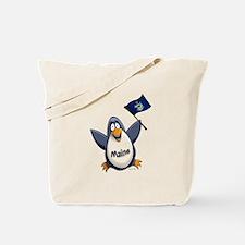 Maine Penguin Tote Bag