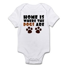 'Where The Dogs Are' Onesie