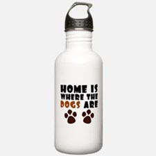 'Where The Dogs Are' Water Bottle