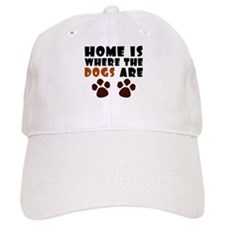 'Where The Dogs Are' Baseball Cap