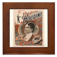 Houdini Performance Poster Framed Tile