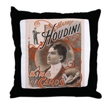 Houdini Performance Poster Throw Pillow