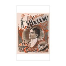 Houdini Performance Poster Rectangle Decal