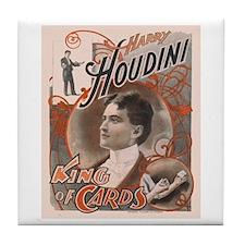Houdini Performance Poster Tile Coaster