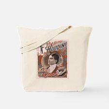 Houdini Performance Poster Tote Bag