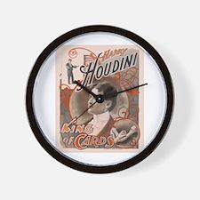 Houdini Performance Poster Wall Clock