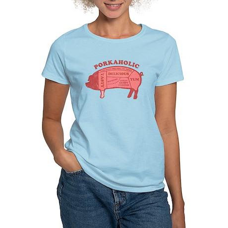 Porkaholic Women's Light T-Shirt