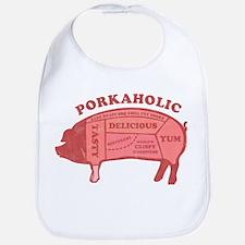 Porkaholic Bib