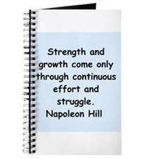 Napolean Hill quotes Journal