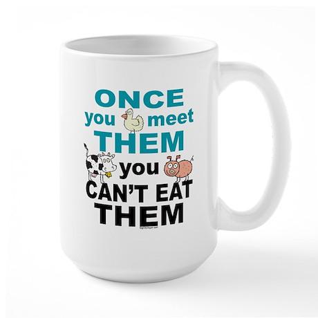 Animal Compassion Large Mug