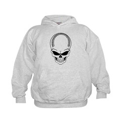 Baseball Skull Hoodie