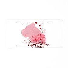 Cute Cane corso italiano Aluminum License Plate