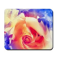 Fractured Rose - Mousepad