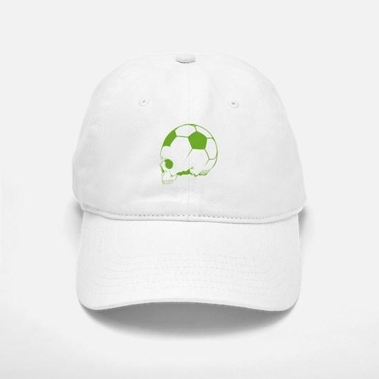 Soccer Skull Baseball Baseball Cap
