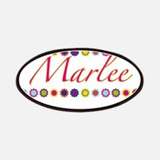 Marlee with Flowers Patches