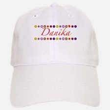 Danika with Flowers Baseball Baseball Cap