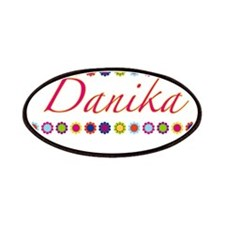 Danika with Flowers Patches