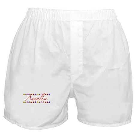 Annalise with Flowers Boxer Shorts
