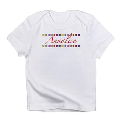 Annalise with Flowers Infant T-Shirt
