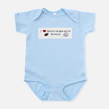 more dog breeds w/this design Infant Bodysuit