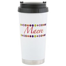 Maeve with Flowers Thermos Mug