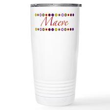 Maeve with Flowers Travel Mug