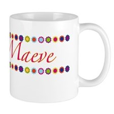 Maeve with Flowers Mug