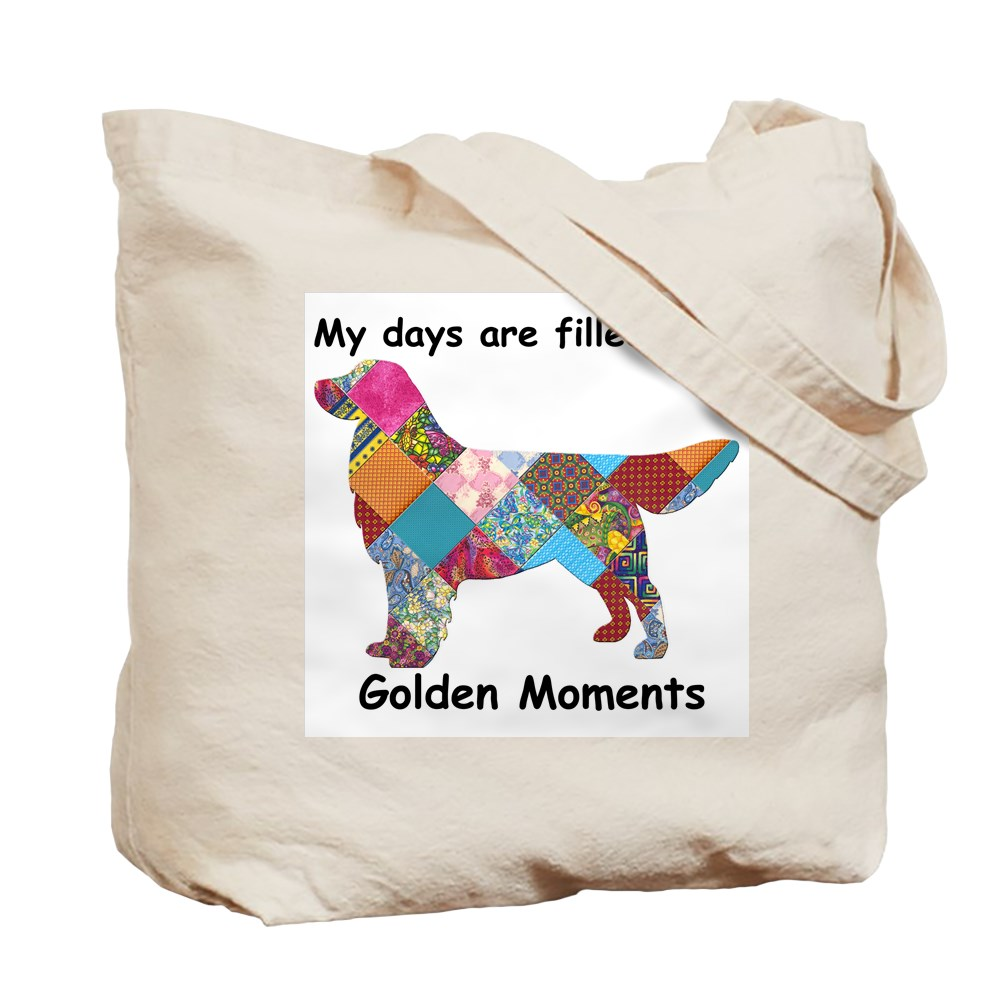 58083257 CafePress Golden Natural Canvas Tote Bag Cloth Shopping Bag