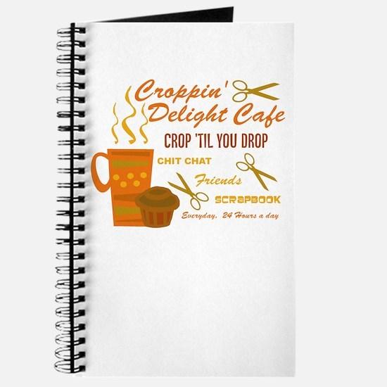 Croppin' Delight Cafe V.1 Journal