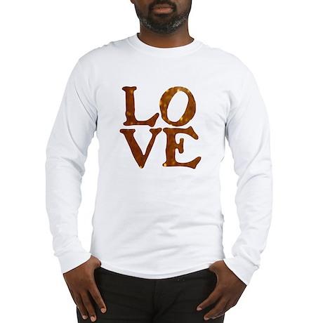 LOVE SPARKLE ORANGE™ Long Sleeve T-Shirt