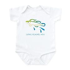 Long Island Fish Infant Bodysuit