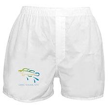 Long Island Fish Boxer Shorts