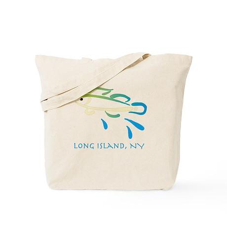 Long Island Fish Tote Bag