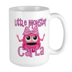 Little Monster Carla Large Mug