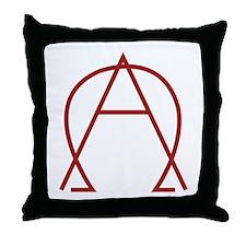 Alpha Omega - Dexter Throw Pillow